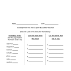 Second grade Harcourt Scavenger Hunts - Book 2, Banner Days