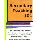 Secondary Teaching 101 by Kim Holdbrooks Townsel