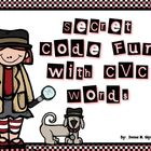 Secret Code With CVC Words