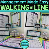 Secret Walker Certificates for Managing A Line of Students