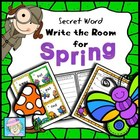 Secret Word Write the Room for Spring