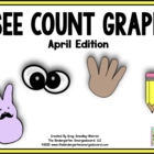 See, Count, Graph April Edition!  A Common Core Aligned Gr