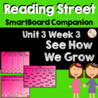 See How We Grow SmartBoard Companion Reading Street Kindergarten