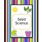 Seed Science Activities & Worksheets
