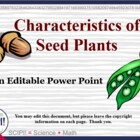 Seeds: Characteristics, Structure, & Dispersal