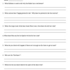 Seekers Reading Comprehension Questions