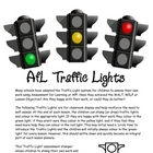 Self Assessment Traffic Light Posters