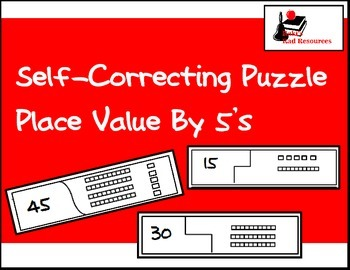 Self Correcting Puzzle - Base 10 Blocks 0 - 100 by 5's