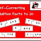 Self Correcting Puzzle - Basic Addition 1-20