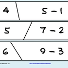 Self Correcting Puzzle - Basic Subtraction 0-12