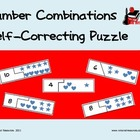 Self Correcting Puzzle - Number Combinations with Pictures