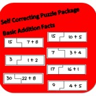 Self Correcting Puzzle Pack - Basic Addition