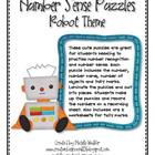 Self-Corrective Number Puzzles (Robot Theme)
