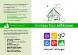 Self Esteem Challenge Pack - targets, posters & worksheets