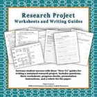 Senior Research Projects- Questions and Guided Organizatio