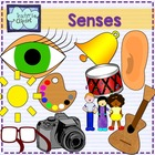 Senses clipart
