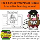 Senses with Potato People {Interactive Learning Journal}