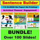 Sentence Builder PowerPoint Unit: JUMBO Writing