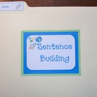 Sentence Building Folder - Earth (Common Core)
