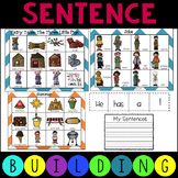 Sentence Building Writing Literacy Centers with Pictures