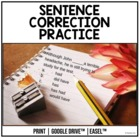 Sentence Correction Practice