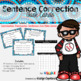 Sentence Correction Task Cards:3rd Grade Common Core