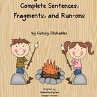 Sentence Pack Common Core Aligned Sentences, Fragments, an