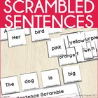 Sentence Scramble