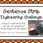 Sentence Strips: Engineering Challenge Project ~ Great STE