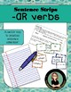 Sentence Strips- Sentence Structure Practice -AR verbs pre
