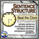 Sentence Structure - Beat the Clock