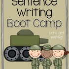 Sentence Writing Boot Camp
