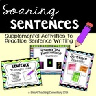 Sentences Supplemental Activities Pack
