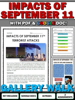 September 11 Impacts - Gallery Walk and Writing Assignment (9/11)