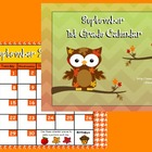 September 2013 1st Grade Calendar for ActivBoard