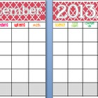 September 2013 Editable/Customizable Curriculum Planning Calendar