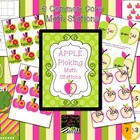 September Apple Picking Math Stations--Common Core