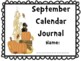 September Calendar Journal (integrates math and literacy!)
