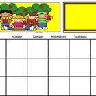 September Calendar for Smart Board