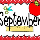 September Class Calendar 