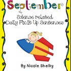 September Daily Fix It Up Sentences