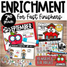 September Enrichment/ Early Finishers*Second GradeVersion