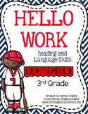 September Hello Work--3rd Grade