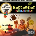 September Homework Packet: Kindergarten (Football Fun)