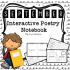 September Interactive Poetry Notebook {With Original Poems}