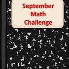 September Math Challenge