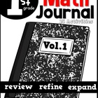 September Math Journal Interactive Printables