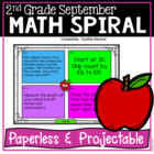 September Math Spiral Review