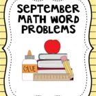 September Math Word Problems