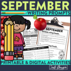 September Mega-Writing Packet {Task Card Prompts, Posters,